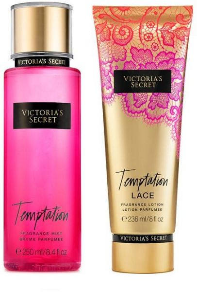 d5a8e1653f Victoria s Secret Temptation Fragrance Mist and Lotion pack Price in ...
