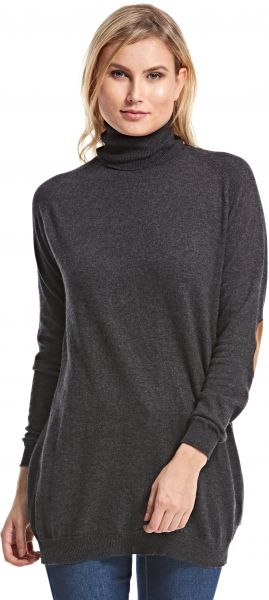 d2d09aa0 Zara Black High Neck Pullover Top For Women | Souq - Egypt