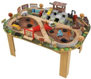 Kidkraft Cars 3 Thunder Hollow Track Set U0026 Table