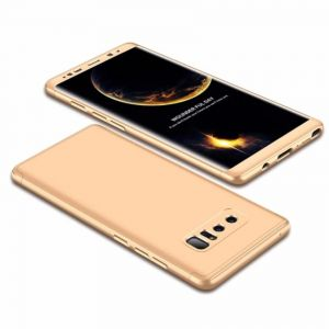 Samsung Galaxy Note 8 Case, Fashion ultra Slim Gkk 360 Full Protection Cover Case - Gold