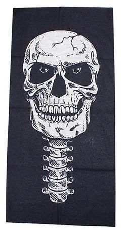 Men's Scarves New Halloween Horror Skull Mask Tease Party Props Festive Masquerade Devil Scary Bloody Bane Airsoft Mask Halloween Easter Scarf