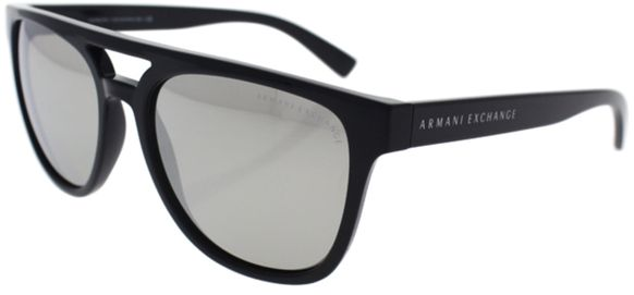 2d086cd77199 Armani Exchange Square Men s Sunglasses - AX 4032 81586G - 55-17-140mm