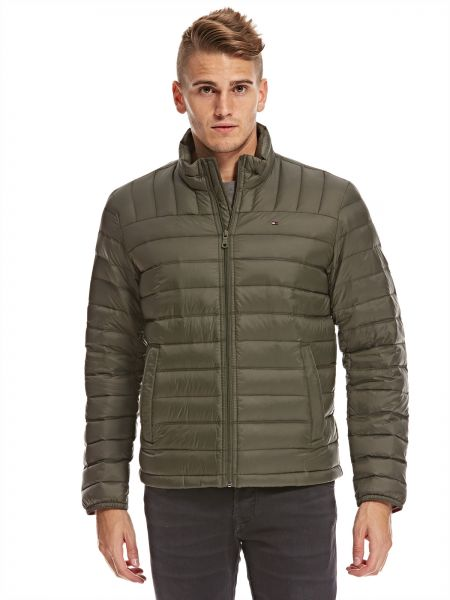 e06edf5c02 ... The North Face Tommy Hilfiger Puffer Jacket for Men - Olive ...