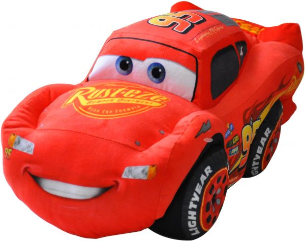 Disney Cars Lightning Mcqueen Plush Toy 20 Inch 4 Years And Above