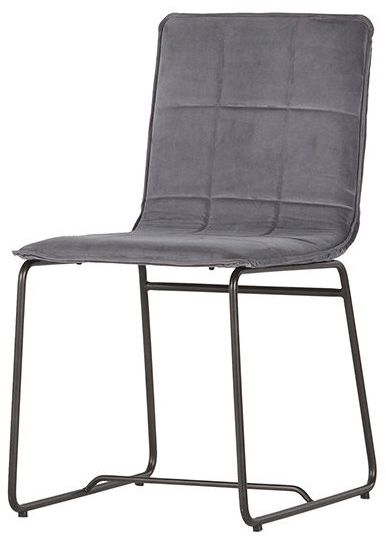 Blanc D\'ivoire Felicity Dining Chair - Grey | Home Furnishing ...