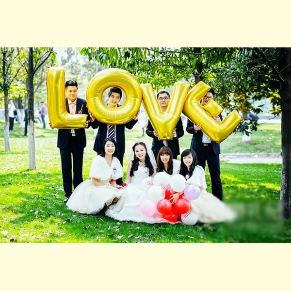 Souq 40inch gold letters love foil balloons wedding decoration air souq 40inch gold letters love foil balloons wedding decoration air inflatable ballons event and party supplies uae junglespirit Gallery