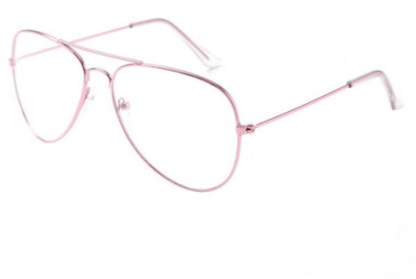 078925fba3a rose gold Fashion alloy Round Eyeglasses Frame Spectacles Glasses ...