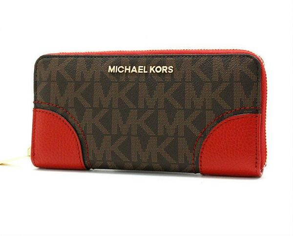 07157810e2f58a Michael Kors Multi Color Leather For Women - Zip Around Wallets ...