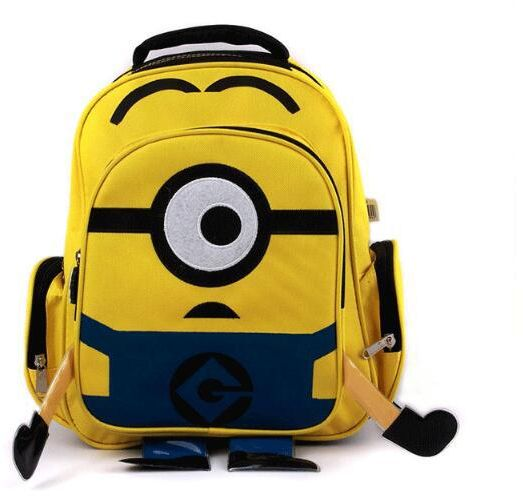 Minion Backpack Kids School Bags for Boys Schoolbag Backpacks For ...