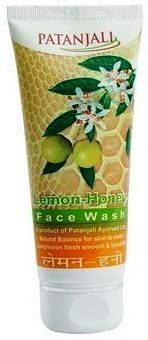 Patanjali Lemon Honey Face Wash with Neem and Tulsi