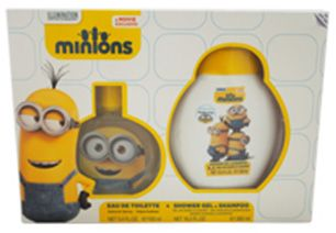 Minions Gift Set by Minions for Kids - Assorted Fragrances, 2 Count