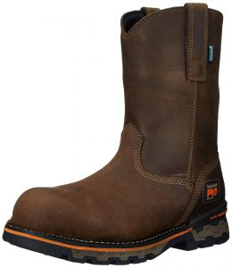 8bc2625a885a7 Timberland PRO Men s AG Boss Pull-On Alloy Toe Waterproof Work and Hunt Boot