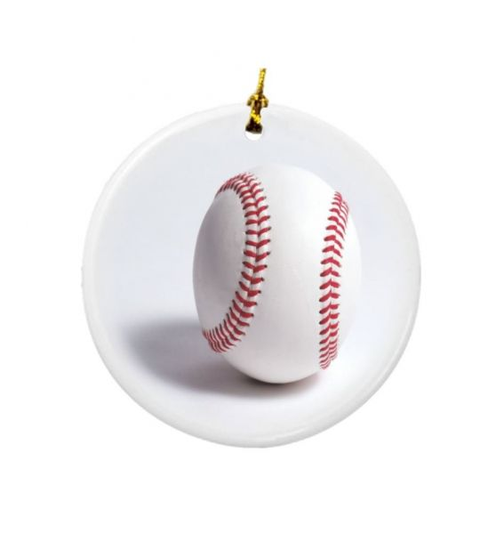 this item is currently out of stock - Baseball Christmas Ornaments