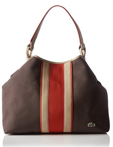 Lacoste Bag For Women Brown Tote Bags