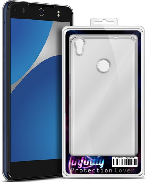 buy online 20f20 6c1a4 Infinity Silicon Cover for Tecno CX Air - Clear