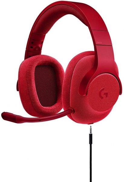 Logitech G433 71 Wired Gaming Headset With DTS Headphone X Surround For PC PS4 PRO Xbox One S Nintendo Switch Fire Red