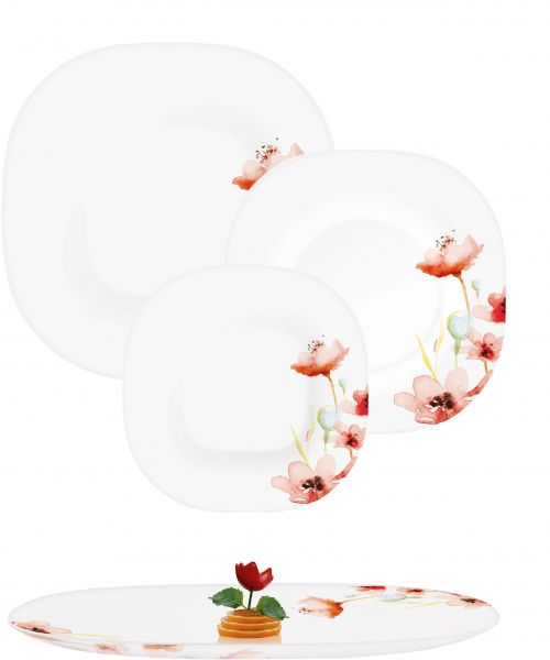 This item is currently out of stock  sc 1 st  Souq.com & Buy Luminarc Dinner Set Temp Neo Carina Florenza Wh 19pcsN2254 ...