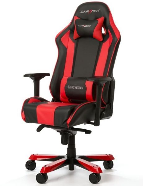Swell Dxracer King Series Computer Gaming Chair Red Machost Co Dining Chair Design Ideas Machostcouk