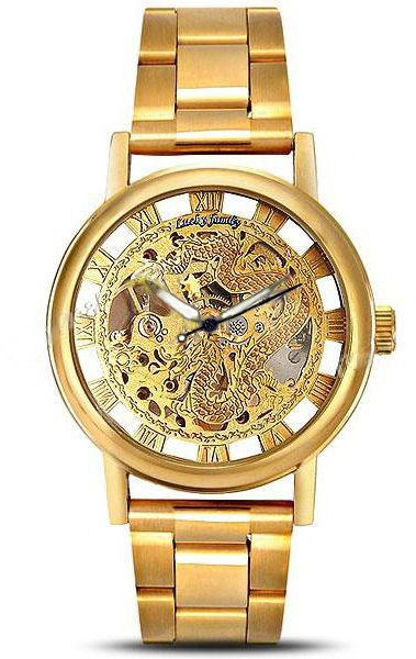 watch man mens skone wrist detail quality business golden style product high watches