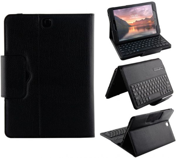quality design 3e03e 33ef8 Samsung Galaxy Tab S3 SM-T820 / SM-T825 - Separable Smart Wireless  Bluetooth keyboard case Cover Set Black