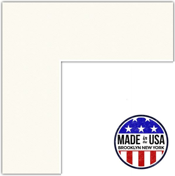 12x17 Cloud / Chantilly Custom Mat for Picture Frame with 8x13 ...
