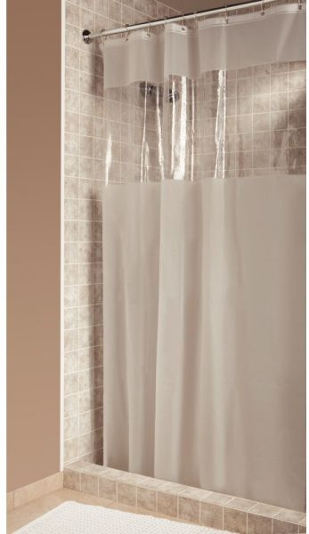 InterDesign Hitchcock Shower Curtain Wide 108 X 72 Clear By Curtains Accessories