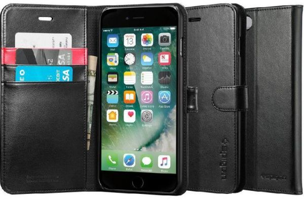 new products 2012c 86b5f Spigen wallet S, Flip Cover Mobile Case, for iPhone 7/iPhone 8 ...