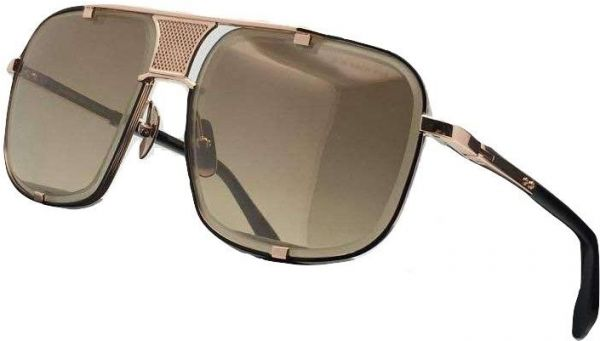 c722c22cdbec Dita Mach Five 2087 Sunglasses Gold brushed frame with Gold Flash ...