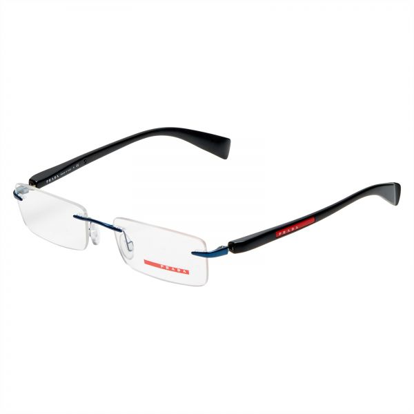 Souq | Prada Rimless Men\'s Medical Glasses - VSPR 56B ZYI - 53-18 ...