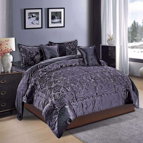 6 Pcs Winter Comforter Set By Ming Li King Size Xzh 006 Home