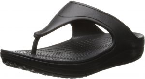 e30fc3285b274 Sale on crocs 11211 capri iv flip flops for women black 9876519 ...