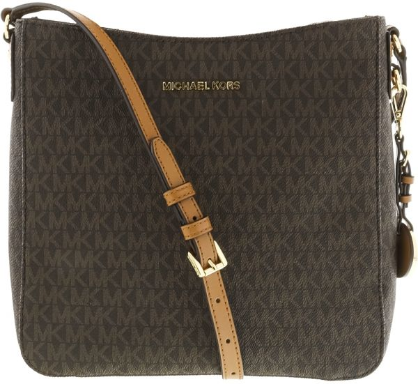 5577848bae42 Michael Kors Signature Crossbody Bag for Women - Leather