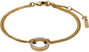 Pilgrim Women Victoria Gold Plated Crystal Bracelet - 601732092