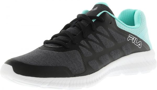 24e236e1a143 Fila Memory Finity Heather Walking Shoe For Women