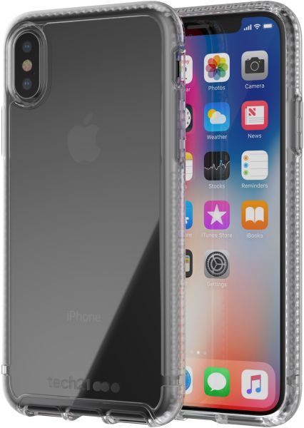 Tech21 Pure Clear for iPhone X - Clear
