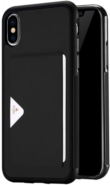 super popular 757e4 e8877 iPhone X Wallet Case, DUX DUCIS Ultra Slim Premium PU Leather Shockproof  Protective hybrid Back Cover, Card Slot For Apple iPhone X
