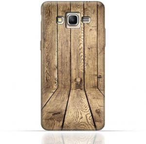 competitive price 126ae ed95b Samsung Galaxy J7 Core 2017 TPU silicone Case with Wood Texture Old ...