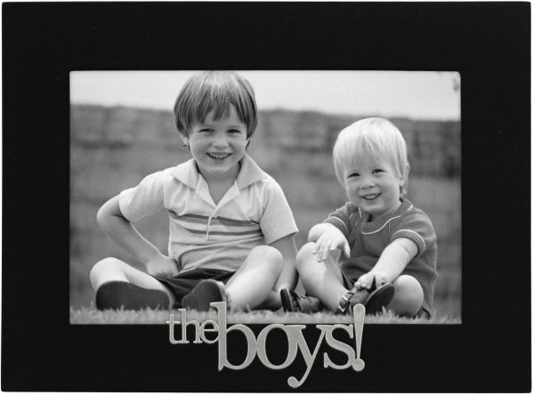 Malden International Designs The Boys Expressions Picture Frame