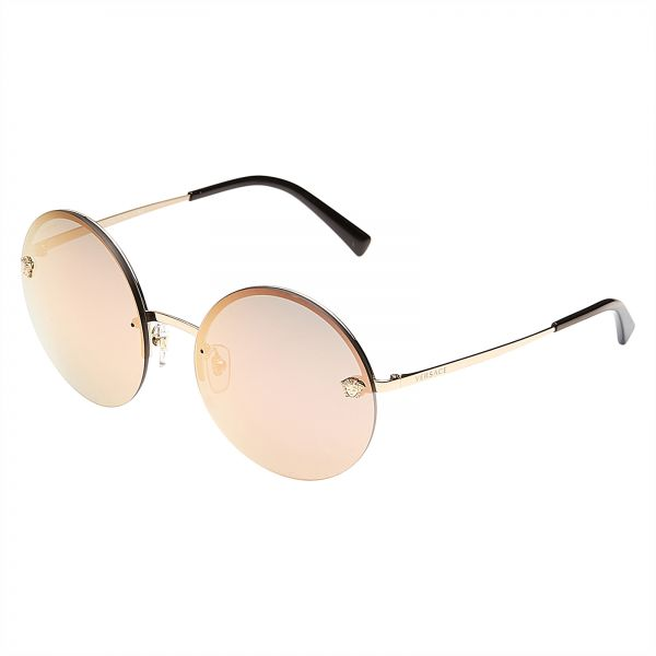 8fa0de6de3bc Versace Round Women s Sunglasses - VE2176-12524Z - 59-18-135 mm ...