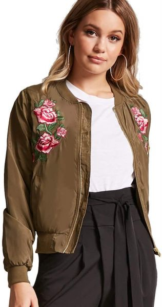 6144ecd71 Forever 21 Bomber Jacket For Women Price in Egypt | Souq | Jackets ...
