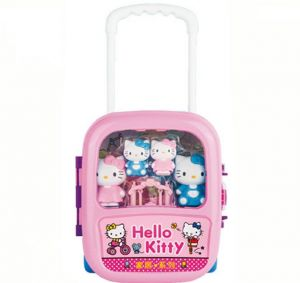 Hello Kitty Suitcase Simulation Travel Luggage Kids Play House Suitcase Toys 8690ec7327