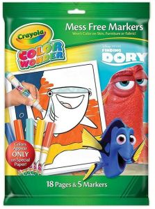 Crayola 71662224974 Finding Dory Color Wonder Paper Markers