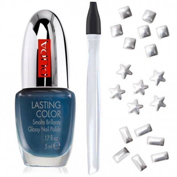 Pupa Nail Art Mania Glam Jewels Number 2, Silver | Cosmetics ...