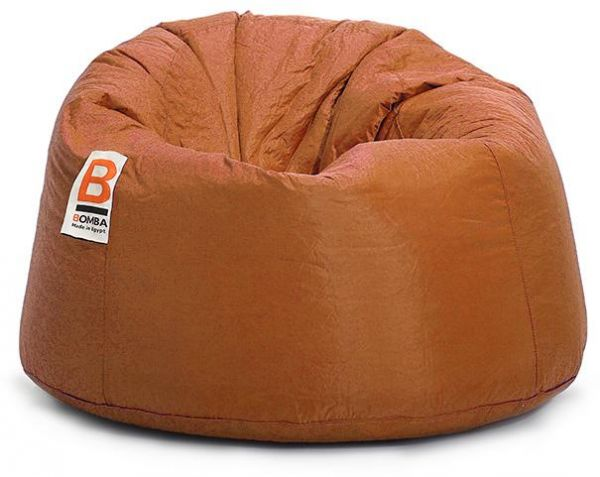 Surprising Bomba Regular Waterproof Bean Bag Orange 85X55X55Cm Pabps2019 Chair Design Images Pabps2019Com