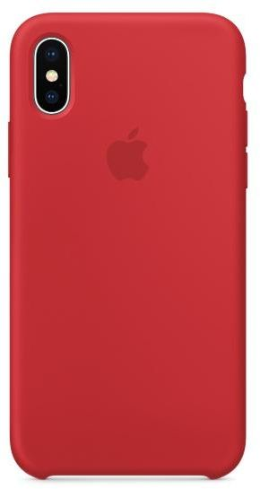 cheap for discount ed338 e8a7e Apple IPhone X Silicone Case RED