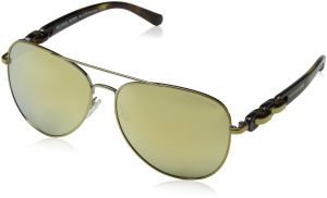 d9deaf6fd4f33 Michael Kors Aviator Women s Sunglasses - MK1015-112-97P-58 - 58-14-140mm