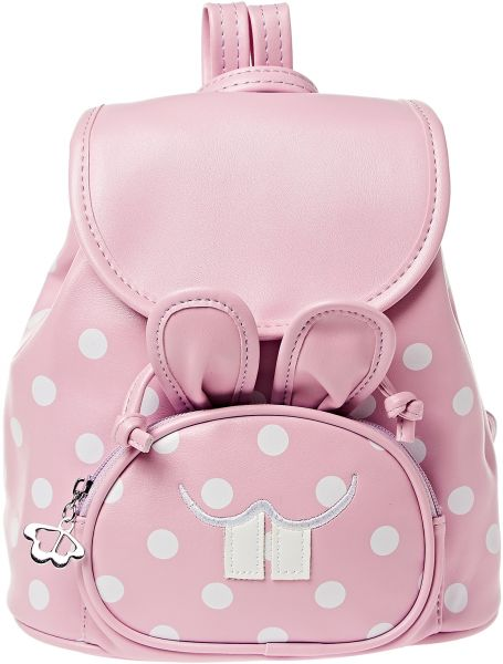 yuejin yJ8197100GZ Fashion Backpack for Girls - Faux Leather, Light Pink 8c547804d2
