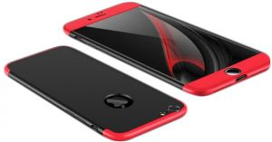 200a2d5f0 Apple iPhone 7 Case, Gkk 360 Full Protection Cover Case - Red Black