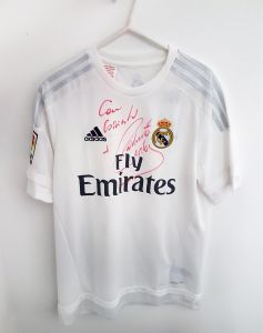 Real Madrid jersey SIGNED by Roberto Carlos 8acc295e9