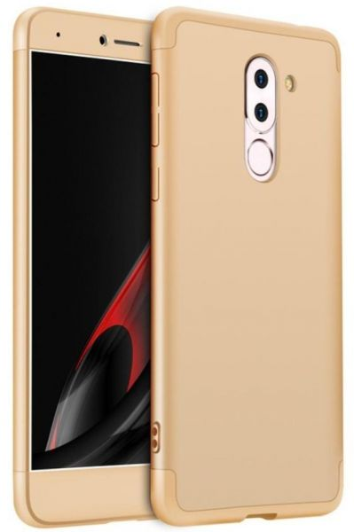 the latest b74e9 769bd Huawei Honor 6X case,Fashion ultra Slim Gkk 360 Full Protection Cover Case  - Gold